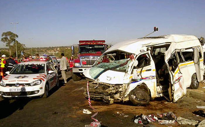 A car accident has claimed the lives of three children. Picture: Netcare 911.