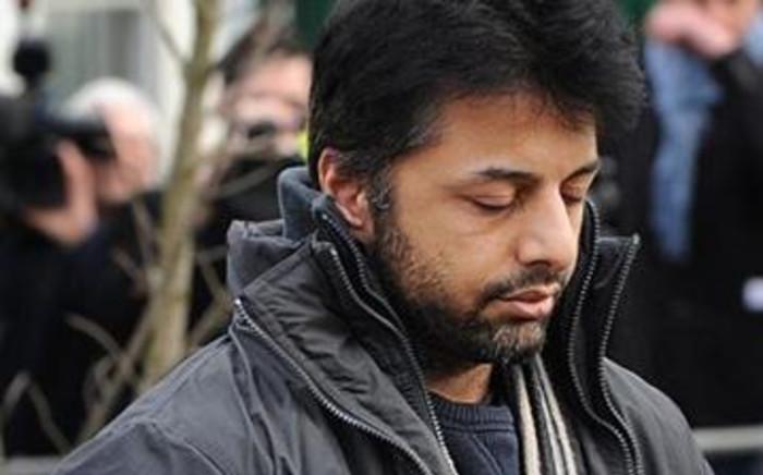 Shrien Dewani arrives at Belmarsh Magistrates Court on February 24, 2011. Picture: Ben Stansall/AFP