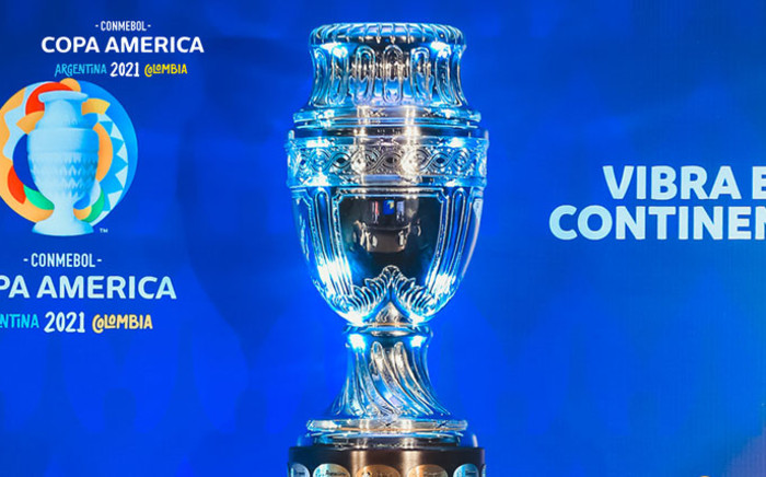 The Copa America trophy. Picture: @CopaAmerica/Twitter