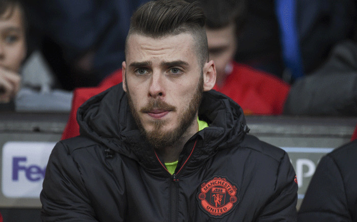 Manchester United's Spanish goalkeeper David de Gea pictured on 20 April 2017. Picture: AFP.