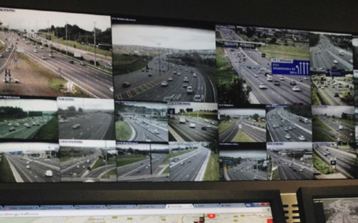 Sanral's highway monitoring an toll collection centre in Johahannesburg. Picture: Barry Bateman/EWN.