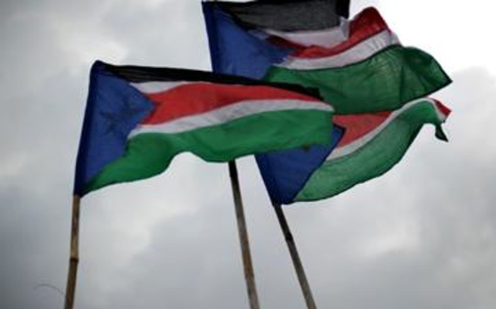 South Sudan flag. Picture: AFP