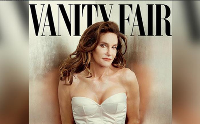 Bruce Jenner, now Caitlyn Jenner, on the cover of Vanity Fair magazine.