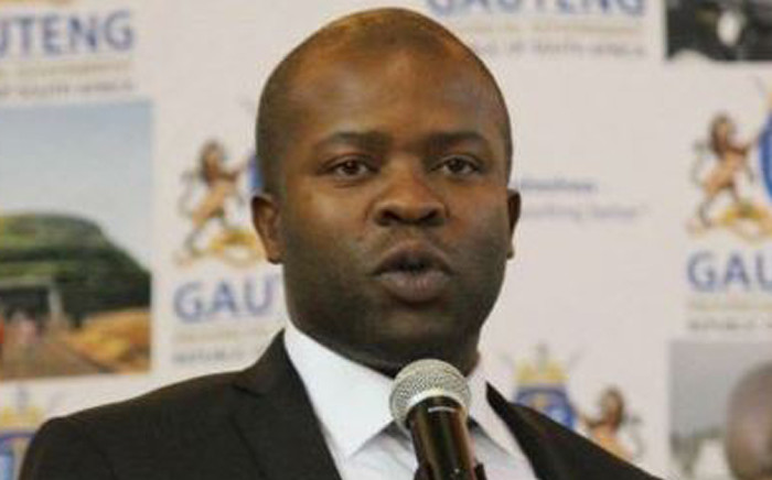 FILE: Gauteng Cooperative Governance MEC Lebogang Maile. Picture: Twitter/@LebogangMaile1