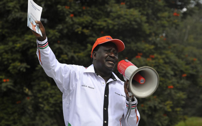 FILE: Kenya's opposition party Coalition for Reforms and Democracy leader Raila Odinga. Picture: AFP