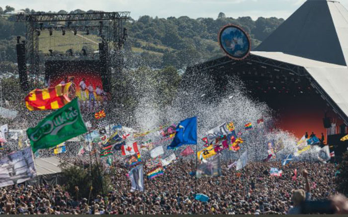 FILE: The Glastonbury Festival. Picture: Twitter/@V_and_A