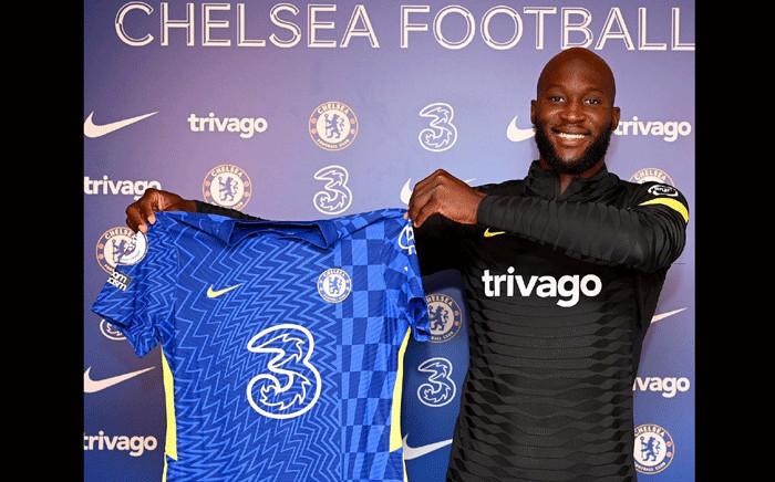 Romelu Lukaku has rejoined Chelsea. Picture: @RomeluLukaku9/Twitter.