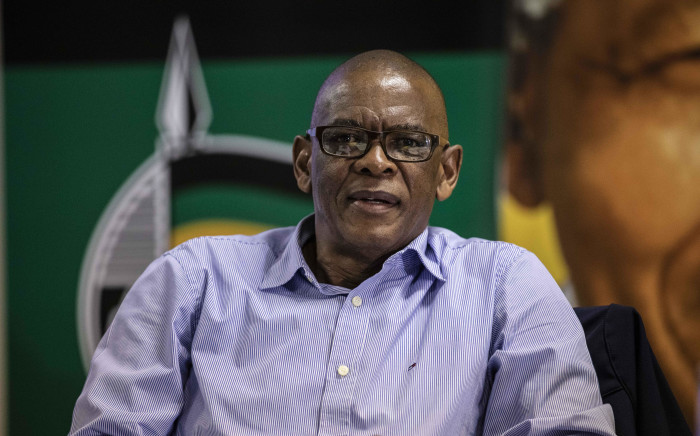 ANC SG Ace Magashule at an NEC meeting in Irene on 1 April 2019. Picture: Abigail Javier/EWN