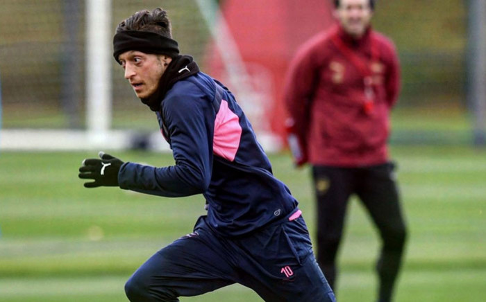 Arsenal's Mesut Ozil. Picture: @MesutOzil1088/Twitter