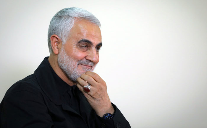 FILE: A file handout photo taken on 1 October 2019 shows Qasem Soleimani, Iranian Revolutionary Guards Corps Major General and commander of the Quds Force. Picture: AFP