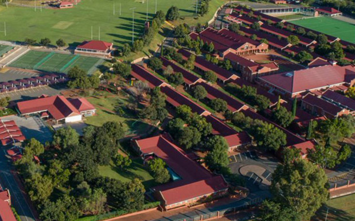 An aerial view of Cornwall Hill College. Picture: @CornwallHill/Twitter