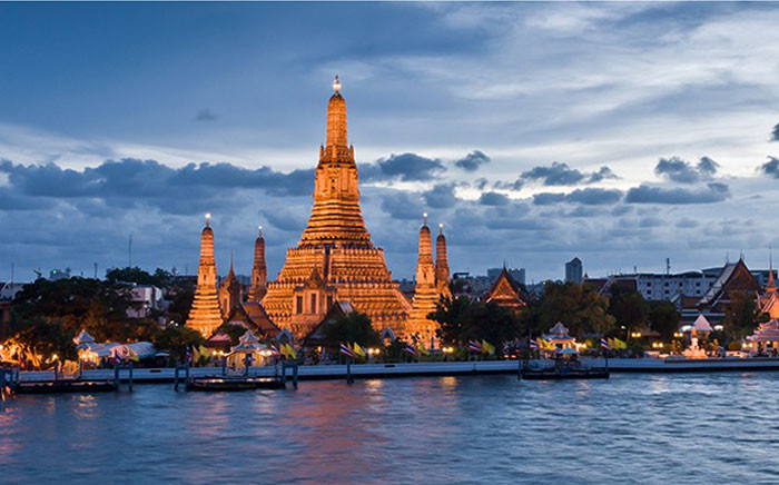 The Wat Arun, a Buddhist temple in Thailand. Picture: Wikimedia Commons.