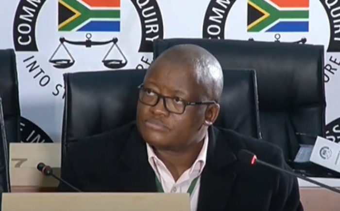 A YouTube screengrab of former National Treasury director-general Lungisa Fuzile testifying at the state capture commission of inquiry in Johannesburg on 11 August 2020. Picture; SABC/YouTube