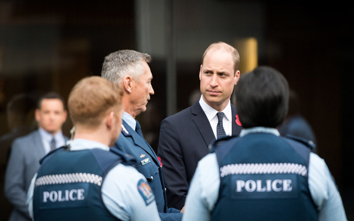 Britain's Prince William visited Masjid Al Noor in Christchurch, New Zealand, where dozens were killed in a mass shooting in March. Picture: @KensingtonRoyal/Twitter.