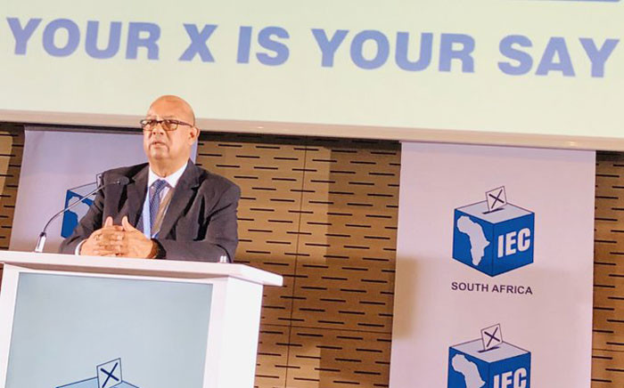 Western Cape chief electoral officer Courtney Sampson. Picture: @CapeTalk/Twitter