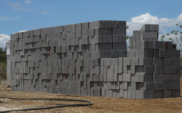 The eco bricks from the Centre of Regenerative Design and Collaboration. Picture: Supplied
