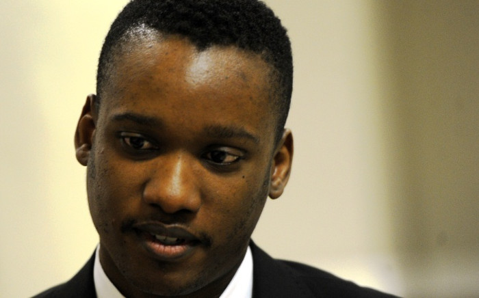 FILE: President Jacob Zuma's son Duduzane is seen at the Randburg Magistrate's Court on Friday 22 August 2014. Picture: Sapa.