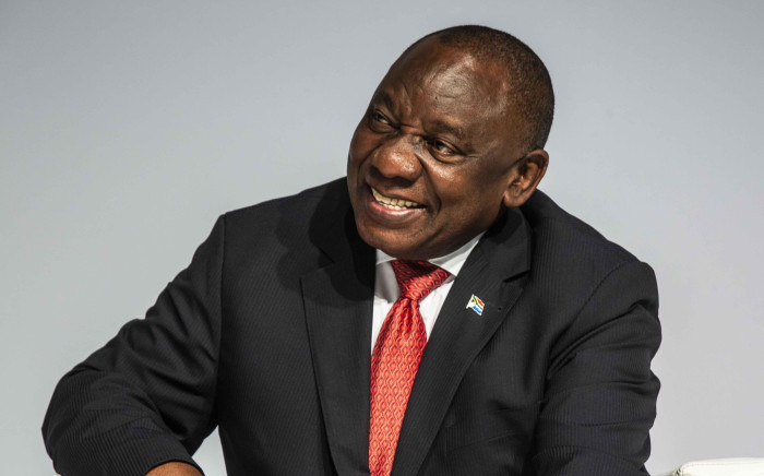 President Cyril Ramaphosa at the 2018 South Africa Investment Conference in Sandton International Convention Centre. Picture: Abigail Javier/EWN