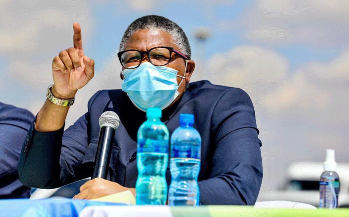 FILE: Transport Minister Fikile Mbalula. Picture: @MbalulaFikile/Twitter.