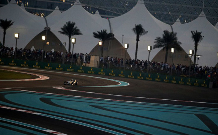 Mercedes-AMG's British driver Lewis Hamilton races during the Abu Dhabi Formula One Grand Prix at the Yas Marina circuit on November 23, 2014. Picture: AFP
