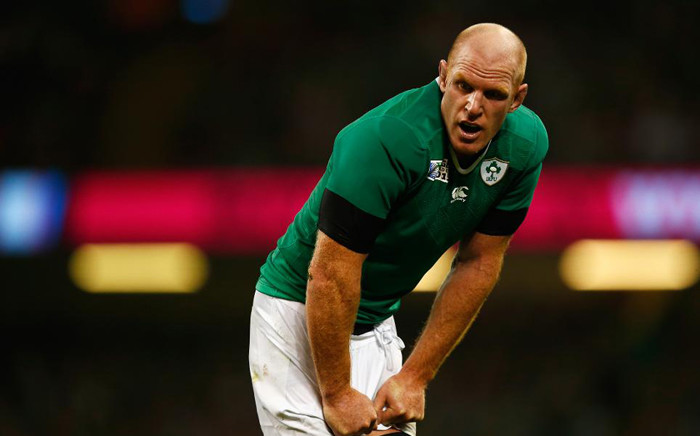 Paul O'Connell of Ireland looks on during the match at the 2015 Rugby World Cup. Picture: Rugby World Cup website.