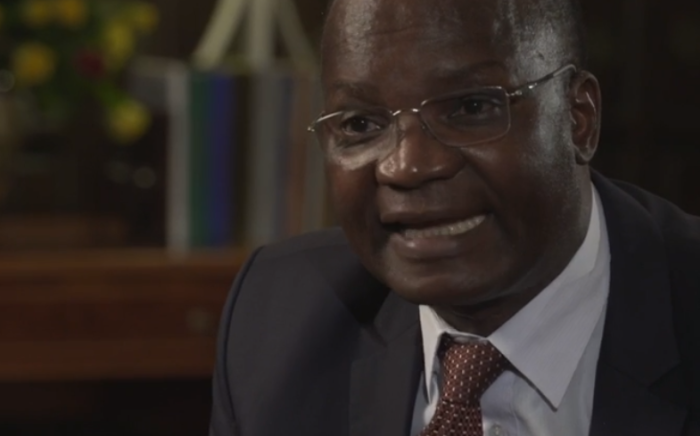 FILE: Zimbabwean government minister Jonathan Moyo. Picture: Screengrab from Hardtalk interview.
