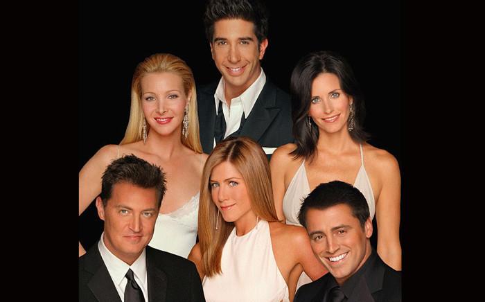 FILE: The cast of US TV show 'Friends'. Picture: NBC