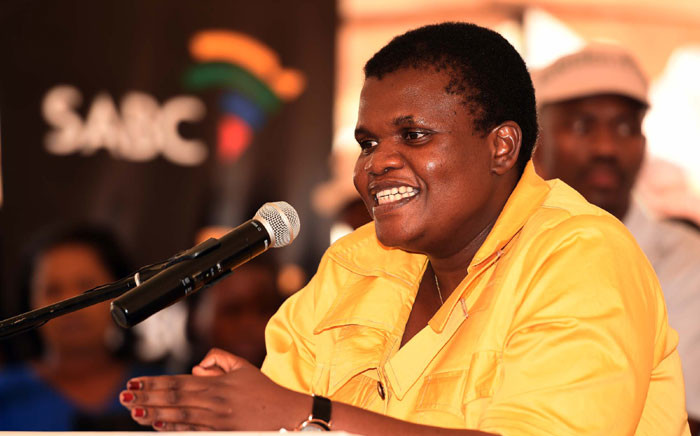 FILE: Minister of Communications Faith Muthambi. Picture: GCIS