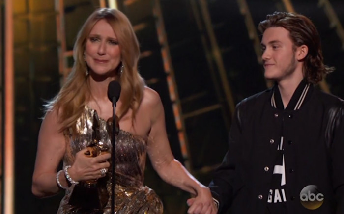 Celine Dion's emotional return following husband and brothers death.Picture: Screengrab/CNN