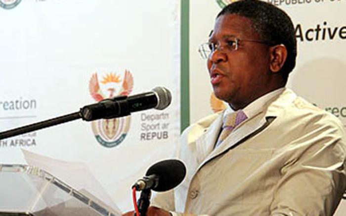 Sports Minister Fikile Mbalula. Picture: Taurai Maduna/EWN