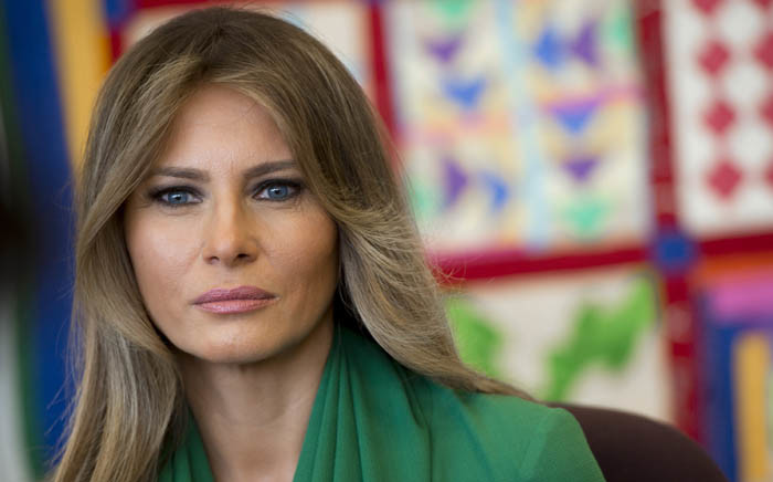 First Lady Melania Trump. Picture: AFP.