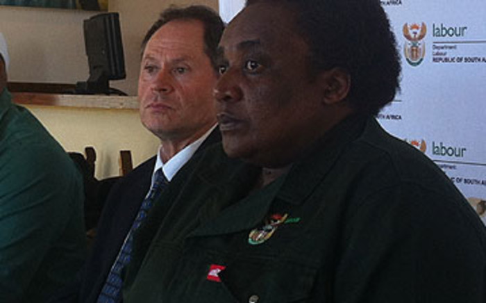 Labour Minister Mildred Oliphant. Picture: EWN.