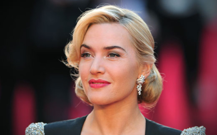 British actress Kate Winslet attends the world premiere of Titanic 3D in central London on 27 March 2012. Picture: AFP/CARL COURT