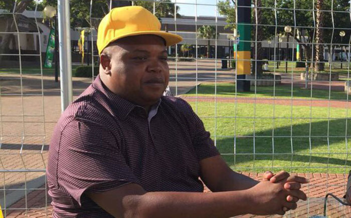 FILE: ANC Youth League leader Collen Maine at Nasrec for the ANC national conference on 17 December 2017. Picture: @MYANC/Twitter