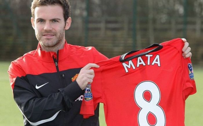 Manchester United's record signing Juan Mata could make his United debut against Cardiff City on Tuesday. Picture: Facebook.com