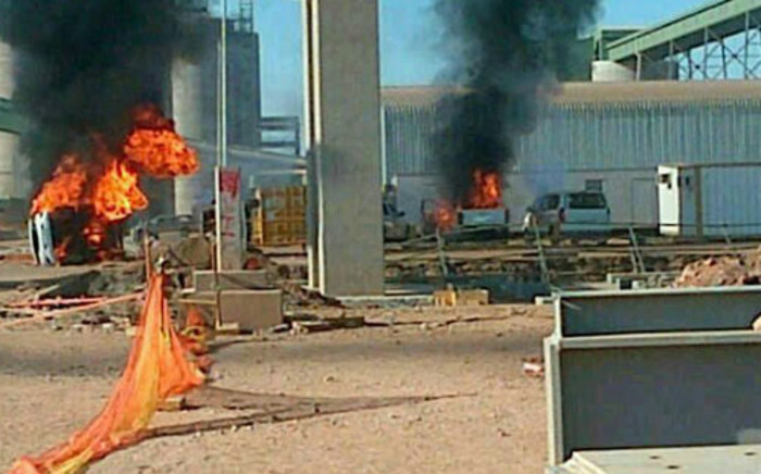 Protests have erupted at the Medupi Poer Station in Limpopo. Picture: EWN