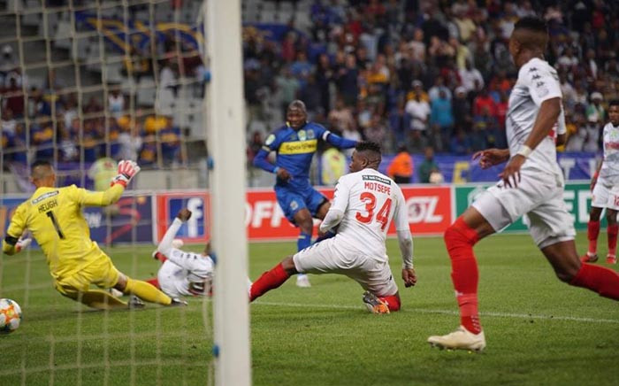 Cape Town City booked a spot in the South African FA Cup quarterfinals after beating Highlands Park on Friday. Picture: @CapeTownCityFC/Facebook.com.