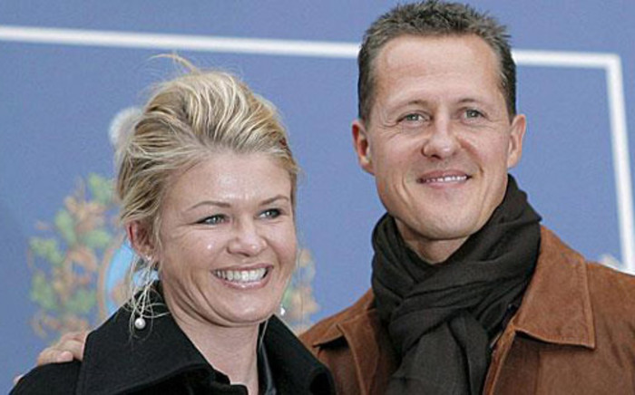 FILE: Michael Schumacher and his wife Corinna Betsch. Picture: Facebook.com