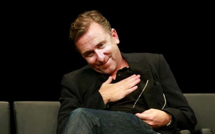 FRANCE, Lyon : US actor Tim Roth gestures during the 2013 Lumiere Award ceremony of the Lumiere festival on October 18, 2013 in Lyon, central eastern France. AFP PHOTO / PHILIPPE MERLE