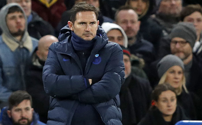 FILE: Chelsea's head coach Frank Lampard. Picture: AFP.