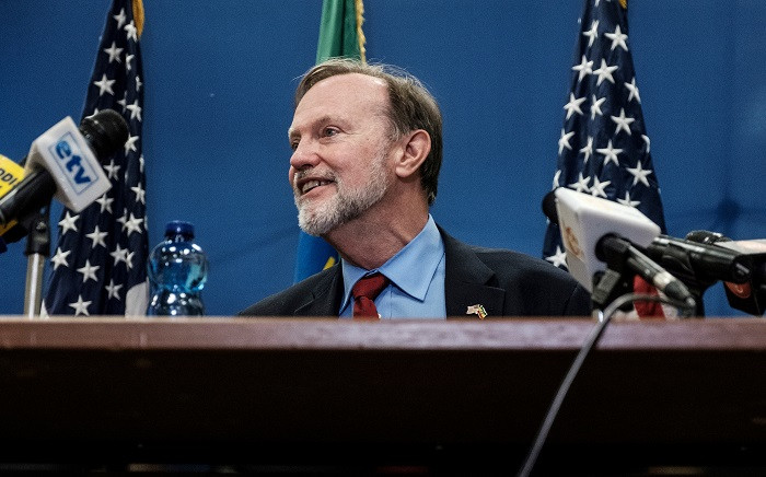 Assistant Secretary of State for African Affairs Tibor Nagy speaks during a press conference at the US Embassy in Addis Ababa, on 30 November 2018. Picture: AFP