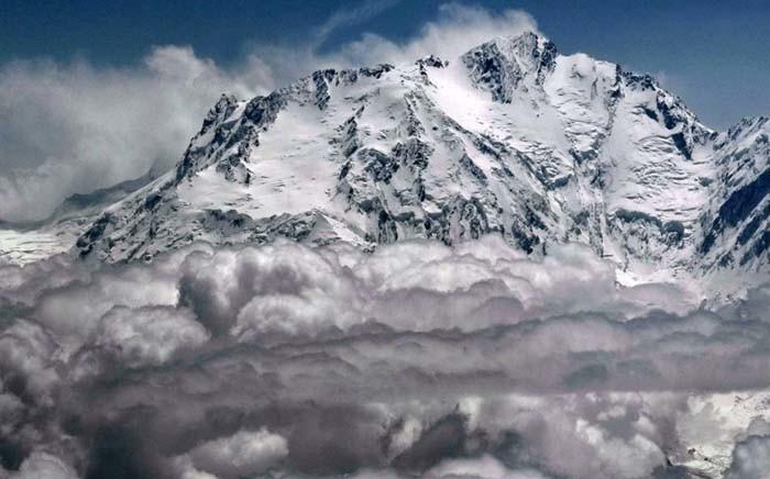 "Pakistan's treacherous ""Killer Mountain"", Nanga Parbat. Picture: @parbat_adv/Twitter."