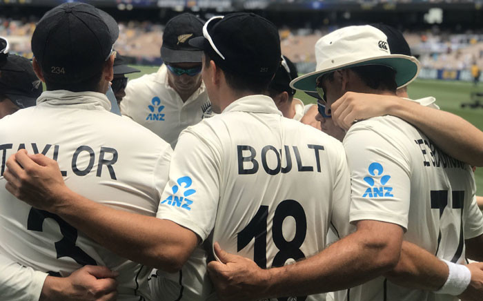 Members of New Zealand's cricket team pictured on 28 December 2019. Picture: @BLACKCAPS/Twitter