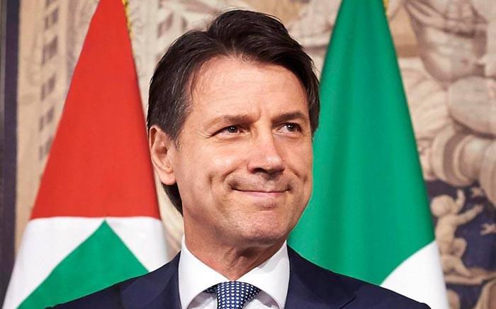 FILE: Former Italian Prime Minister Giuseppe Conte. Picture: Facebook.com.