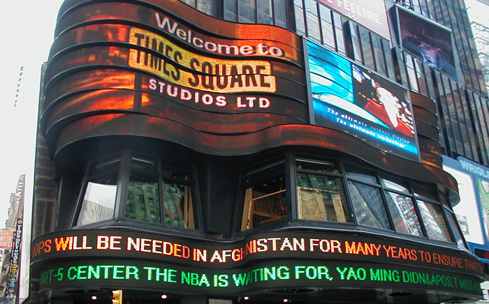 Times Square in New York. Picture: freeimages.com