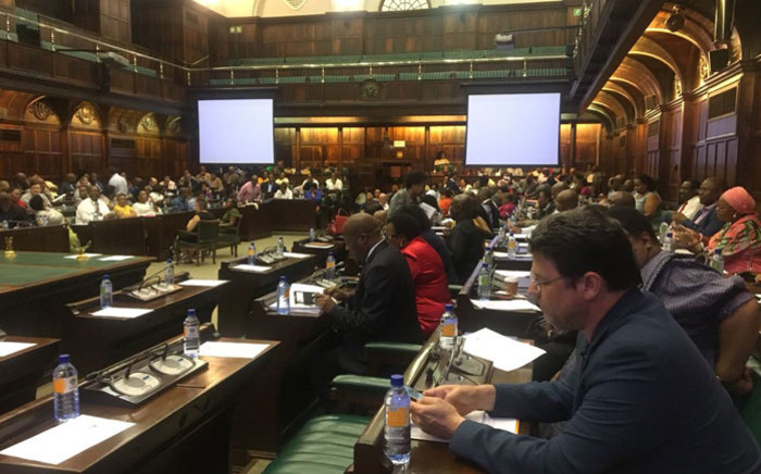 The ANC caucus in Parliament. Picture: @ANCParliament/Twitter