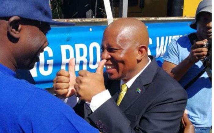 Herman Mashaba. Picture: @Our_DA/Twitter