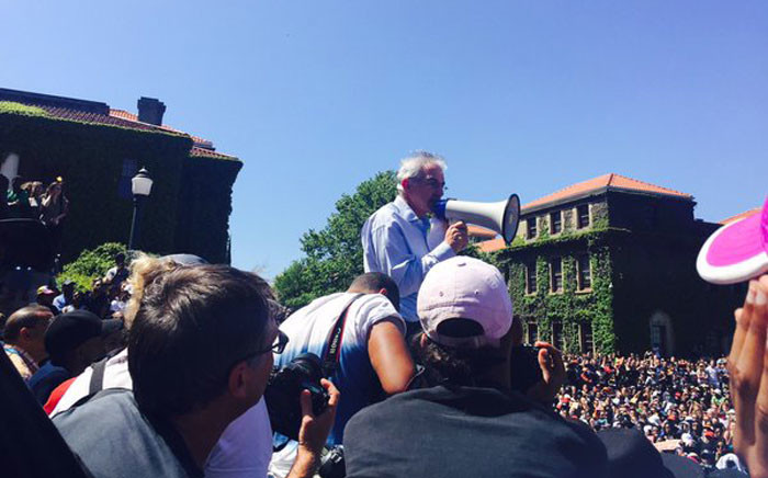FILE: UCT vice chancellor Max Price. Picture: Giovanna Gerbi/EWN.