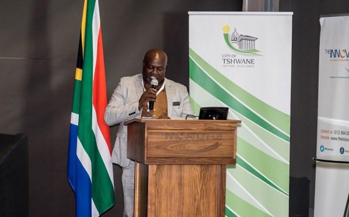 Outgoing Tshwane acting city manager Moeketsi Ntsimane. Picture: Tshwane-Inter-University-Innovation-Challenge/Facebook