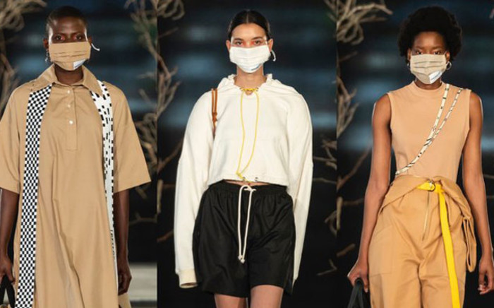 The 2020 SA Fashion Week was live streamed for people around the world in line with COVID-19 lockdown rules. Picture: Twitter @safashionweek